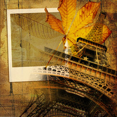 Fotomurales - autumn in Paris