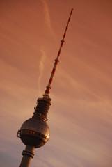 Berlin - Fersehturm am Abend