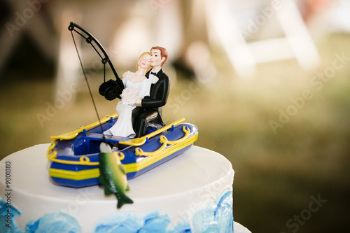 fishing wedding cake images quot fishing wedding cake topper quot stock photo and royalty free 14289