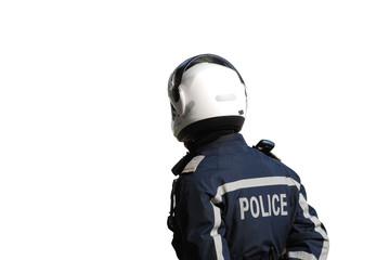 policier détouré