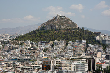 Berg in Athen