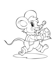 Illustration mouse