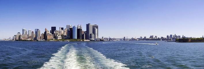 Photo panoramique New-York Manhattan