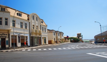 Luderitz, small town in Namibia