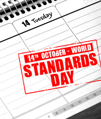 october 14 - world standards day