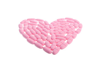 Super macro of medical pills
