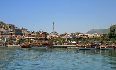 Hafen Alanya Türkei