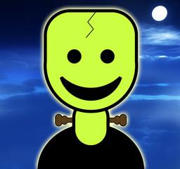 Cartoon Frankenstein 4