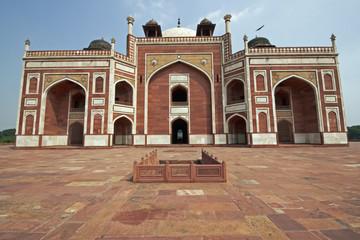 Printed roller blinds Delhi Humayun's Tomb. Delhi, India