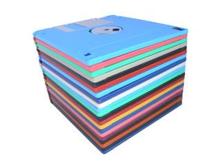 Pile floppy-disk