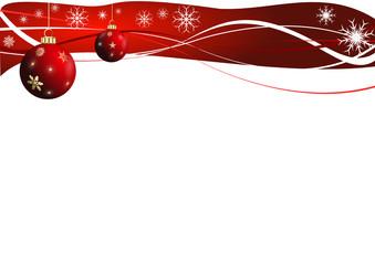 arrière-plan rouge de Noël
