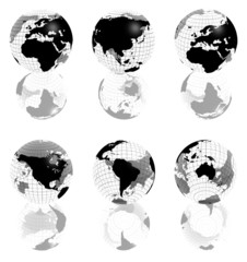 3d globe collection