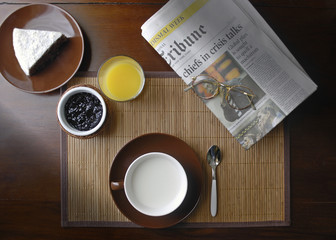 morning newspapers