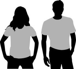 T-shirts Vorlage
