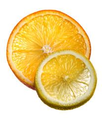 Fette arancio e limone