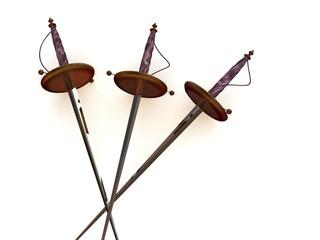 swords. 3d