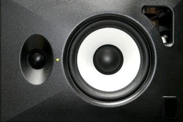 A generica home or studio audio speaker.