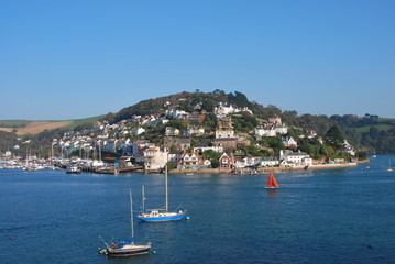 Kingswear seen from Dartmouth