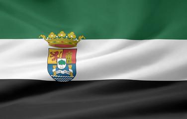 Flagge von Extremadura