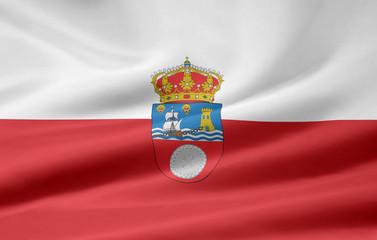 Flagge von Kantabrien