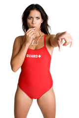 Lifeguard Pointing