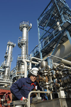 engineer, oil and gas refinery