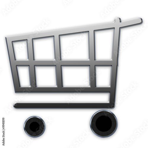 chariot pour les courses photo libre de droits sur la. Black Bedroom Furniture Sets. Home Design Ideas