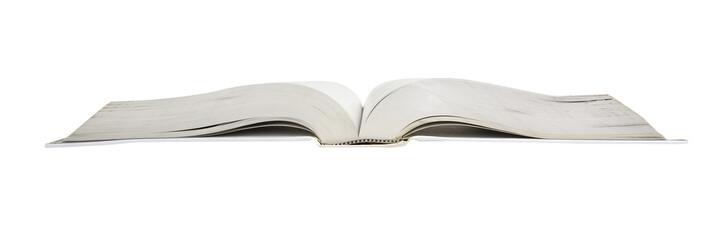 Thick open book wide aspect ratio