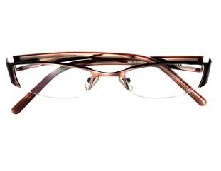 Glasses on white