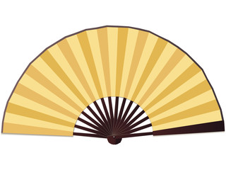 Traditional Chinese paper fan