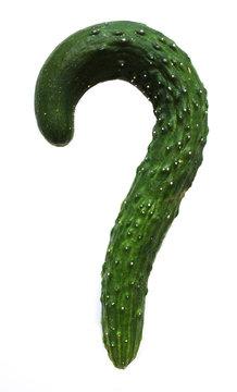 Cucumber question mark