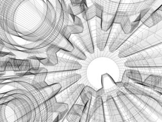 Background industrial design
