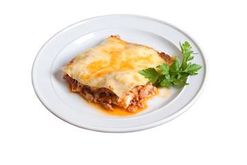 Lasagna.Italian kitchen