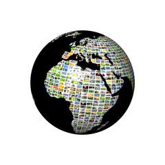multimedia globe