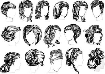 sixteen woman hairstyles