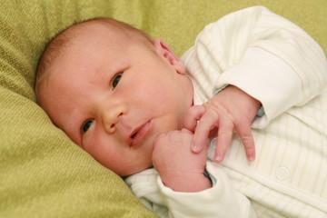 newborn baby - 8 days old baby