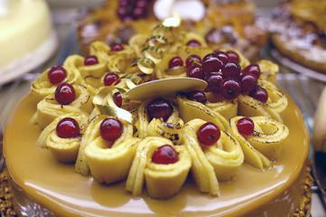 gâteau de fruits