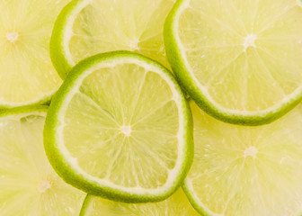 lime slices abstract background