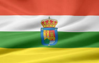 Flagge von La Rjoja