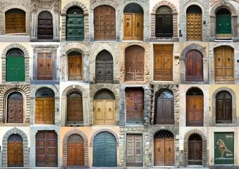 Photo sur Plexiglas Toscane Collection vintage obsolete elegant tuscany door