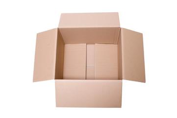 Karton Box offen