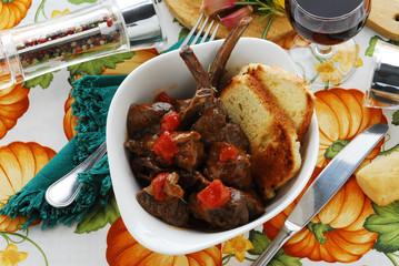 Buglione all uso di Manciano Secondi - Ricette dela Toscana