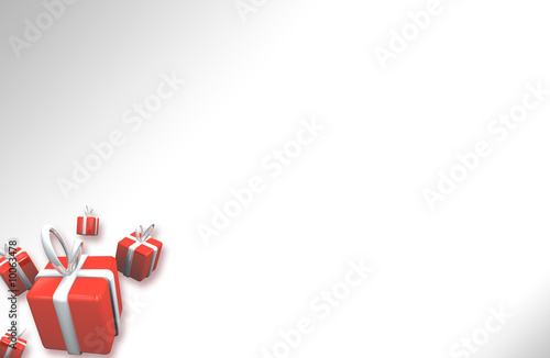 Lettre Damour Coeurs Carte Voeux A4 Vierge Stock Photo And
