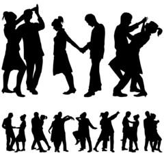 couple romantic dance