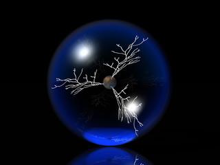 bulle et éclairs