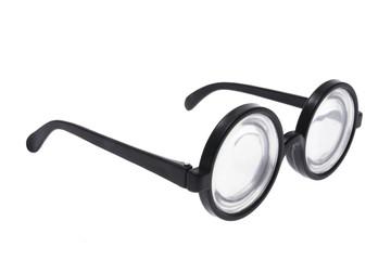 Joke Glasses on Isolated White Background