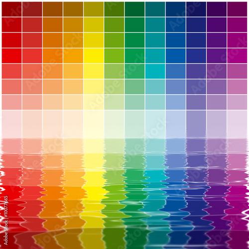 Palette chromatique et m lange des couleurs photo libre - Palette chromatique des couleurs ...