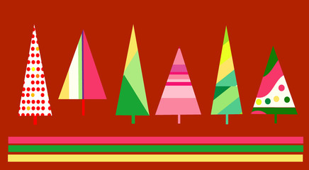 Cute Christmas card design