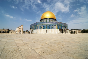 Dome of the rock a friday afternoon before prayers