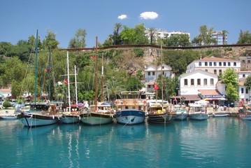 Foto op Plexiglas Historisch geb. Antalya